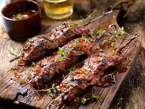 Thyme「BBQ Steak Skewers」:スマホ壁紙(6)