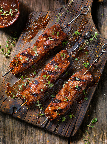 Thyme「BBQ Steak Skewers」:スマホ壁紙(4)