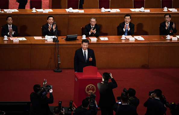 Politics「China's NPC Votes On The Draft Amendment To The Constitution Of People's Republic Of China」:写真・画像(9)[壁紙.com]