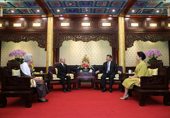 King Norodom Sihamoni「King of Cambodia Visits China」:写真・画像(15)[壁紙.com]