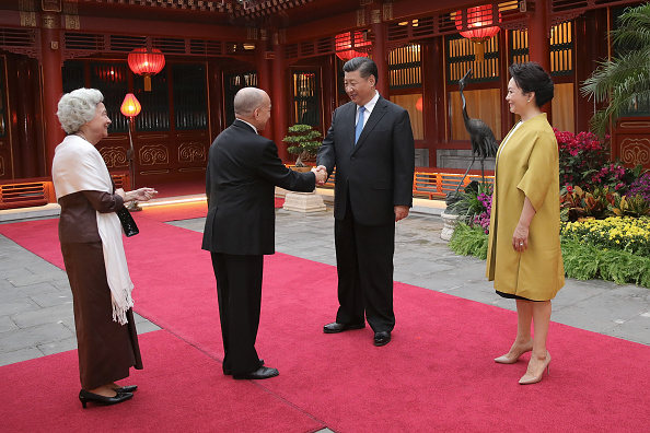 King Norodom Sihamoni「King of Cambodia Visits China」:写真・画像(0)[壁紙.com]