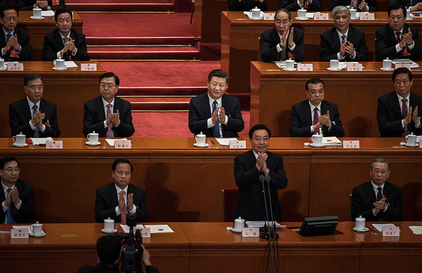 Kevin Frayer「China's NPC Votes On The Draft Amendment To The Constitution Of People's Republic Of China」:写真・画像(0)[壁紙.com]