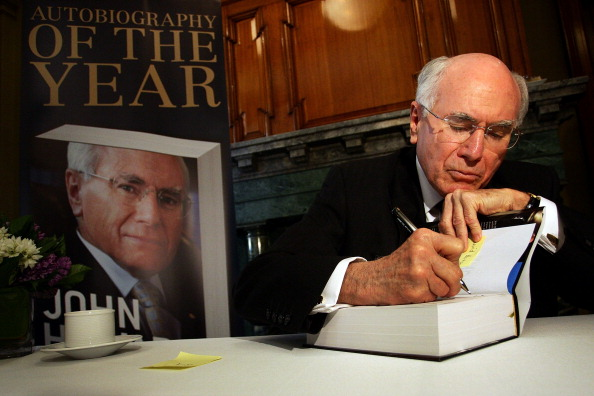 Autobiography「John Howard Promotes Autobiography In Sydney」:写真・画像(11)[壁紙.com]