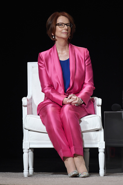 """Julia Gillard「Glamour Hosts """"The Power Of An Educated Girl"""" With First Lady Michelle Obama」:写真・画像(8)[壁紙.com]"""