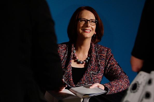 "Julia Gillard「Julia Gillard Launches Her New Book ""My Story"" In Sydney」:写真・画像(10)[壁紙.com]"