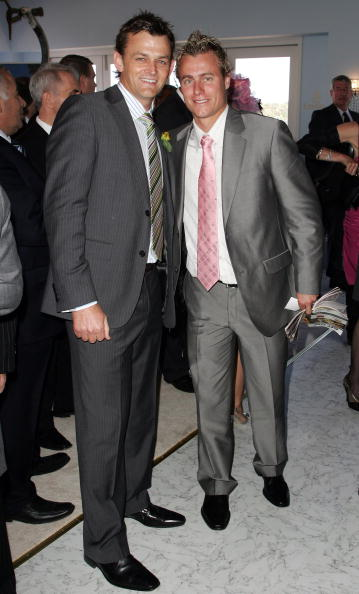 Adam Gilchrist「Celebrities At Emirates Melbourne Cup Day」:写真・画像(17)[壁紙.com]