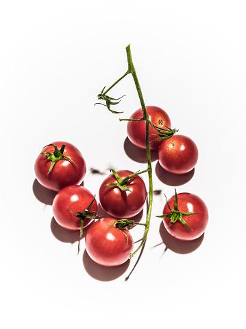 Cherry Tomato「Tomatoes on vine」:スマホ壁紙(18)