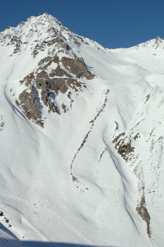 Lechtal Alps「Off-piste ski-slope」:スマホ壁紙(8)