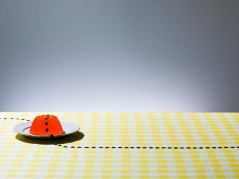 Gingham「Orange jelly with ants」:スマホ壁紙(6)