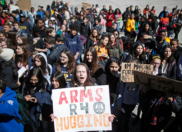 Walkout - Protest「Students Across The Country Organize Walkouts In Protest Over Gun Violence」:写真・画像(19)[壁紙.com]
