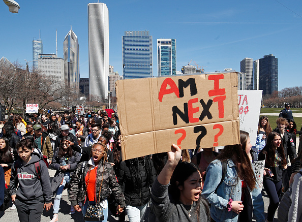 Walkout - Protest「Students Across The Country Organize Walkouts In Protest Over Gun Violence」:写真・画像(7)[壁紙.com]