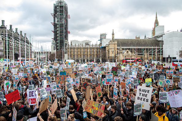 Environment「UK Students Strike Against Climate Change」:写真・画像(19)[壁紙.com]