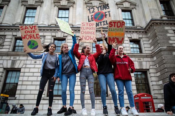 Protest「UK Students Strike Against Climate Change」:写真・画像(17)[壁紙.com]