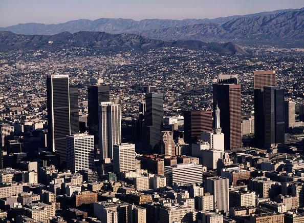 都市景観「Aerial Photo of Downtown Los Angeles」:写真・画像(18)[壁紙.com]