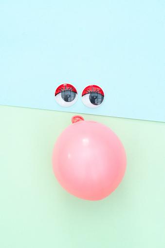 Cartoon「cartoon figuur met ballon」:スマホ壁紙(19)
