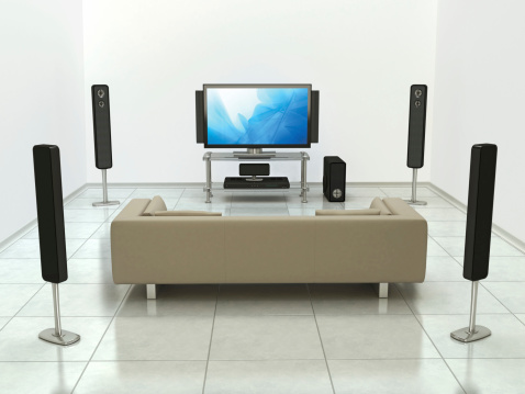 Surrounding「Home cinema system」:スマホ壁紙(5)
