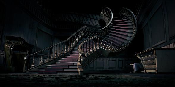 Fairy tale「Surreal bending stair」:スマホ壁紙(7)