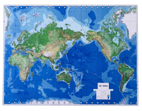 Latitude「Map of World」:スマホ壁紙(5)