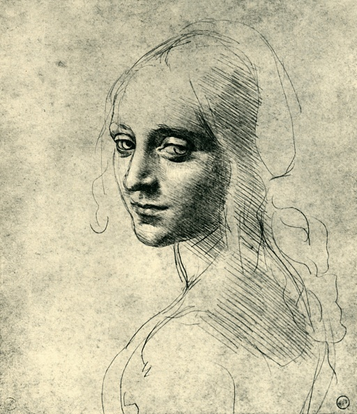 Young Women「Head Of A Young Woman (Study For The Angel In The Virgin Of The Rocks)」:写真・画像(8)[壁紙.com]