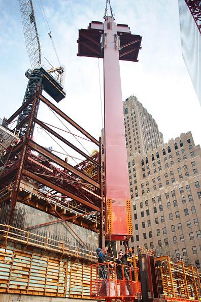 Incomplete「World Trade Centre, August 2009, 1 World Trade Centre, New York City, USA First Perimeter Steel Column」:写真・画像(5)[壁紙.com]