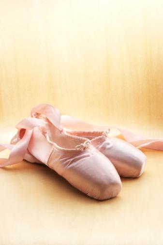 Lace - Fastener「Ballet shoes, close-up」:スマホ壁紙(14)