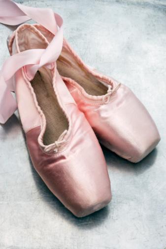 Lace - Fastener「Ballet shoes, close-up」:スマホ壁紙(16)