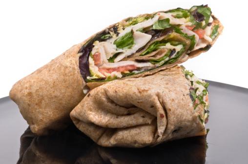 Tortilla - Flatbread「Turkey wrap sandwich」:スマホ壁紙(13)