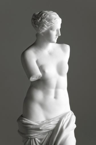 Art「Venus de Milo on grey」:スマホ壁紙(5)