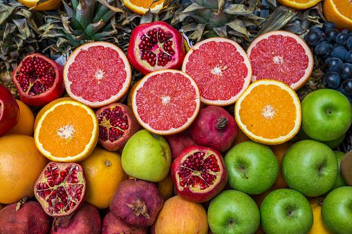 Market Stall「Fruit juice stall in Beyoglu」:スマホ壁紙(2)