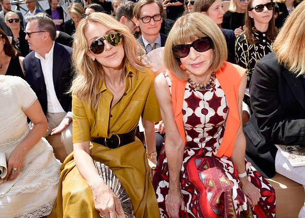 オートクチュール「Christian Dior : Front Row - Paris Fashion Week - Haute Couture Fall/Winter 2017-2018」:写真・画像(16)[壁紙.com]
