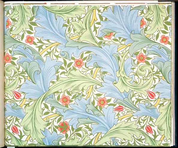 Wallpaper - Decor「Granville' Wallpaper Designed By John Henry Dearle For Morris And Company 1896」:写真・画像(5)[壁紙.com]
