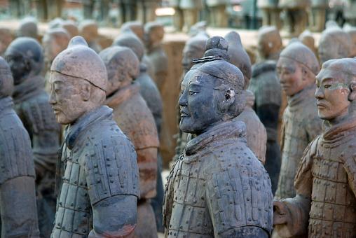 雪「The terracotta warriors in China 」:スマホ壁紙(14)