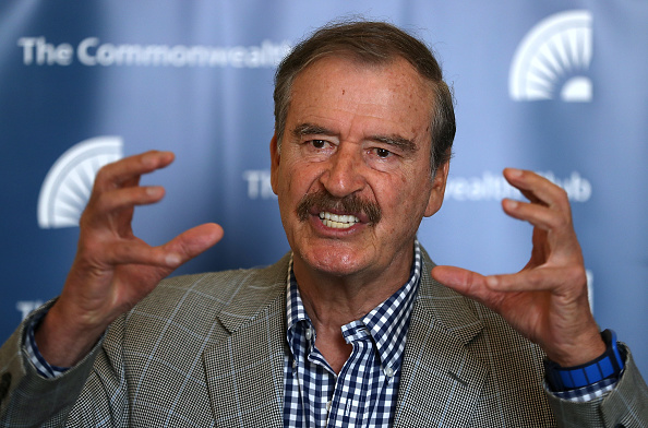 President of Mexico「Former Mexican President Vicente Fox Speaks At Commonwealth Club In San Francisco」:写真・画像(8)[壁紙.com]