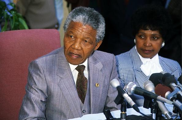 Prejudice「Former President Nelson Mandela with ex wife Winnie.」:写真・画像(11)[壁紙.com]