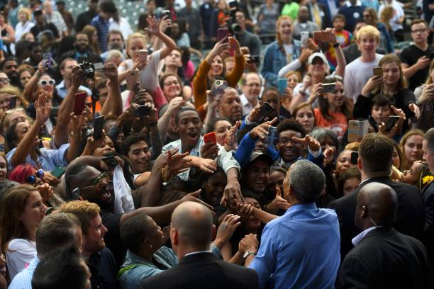 Barack Obama Attends Campaign Rally For Pennsylvania Democrats In Philadelphia:ニュース(壁紙.com)