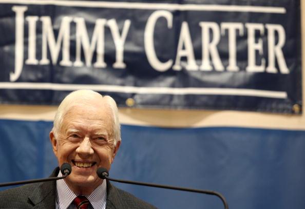 Jessica McGowan「Jimmy Carter Holds Annual Town Hall Meeting In Atlanta」:写真・画像(4)[壁紙.com]