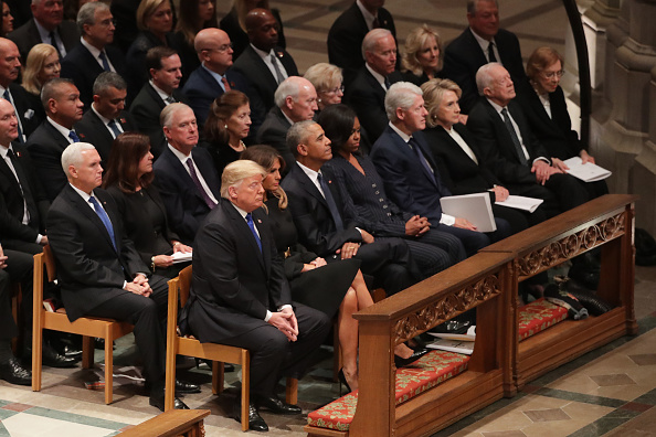 Funeral「State Funeral Held For George H.W. Bush At The Washington National Cathedral」:写真・画像(18)[壁紙.com]