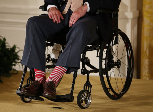 Sock「Obama Hosts George H.W. Bush And Family To Honor 5000th Points Of Light Winner」:写真・画像(19)[壁紙.com]