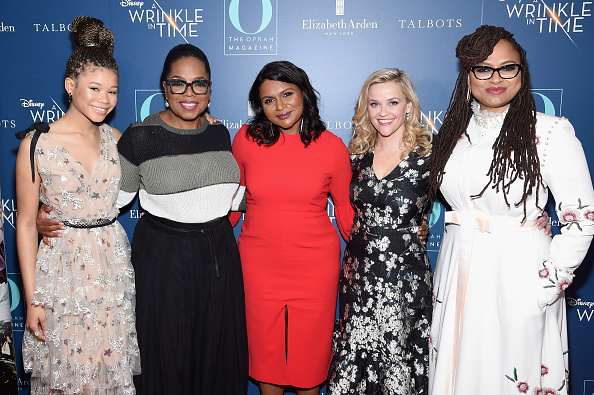 "A Wrinkle in Time「O, The Oprah Magazine Hosts Special NYC Screening Of ""A Wrinkle In Time"" At Walter Reade Theater」:写真・画像(8)[壁紙.com]"