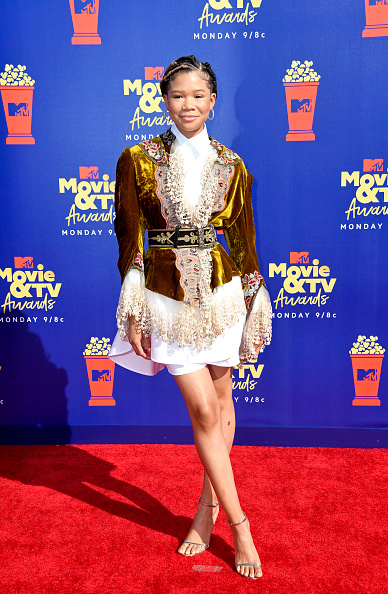 Storm Reid「2019 MTV Movie And TV Awards - Arrivals」:写真・画像(4)[壁紙.com]