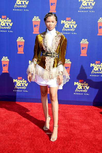 Storm Reid「2019 MTV Movie And TV Awards - Arrivals」:写真・画像(13)[壁紙.com]