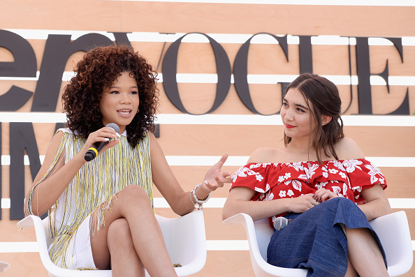 Wrinkled「The Teen Vogue Summit LA: Keynote Conversation with A Wrinkle In Time director Ava Duvernay and actresses Rowan Blanchard and Storm Reid」:写真・画像(17)[壁紙.com]