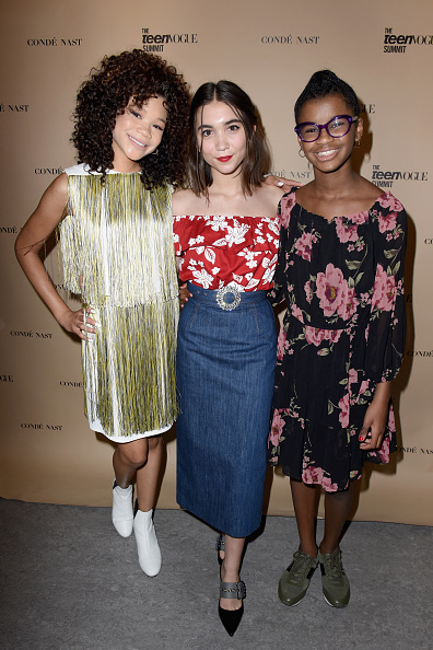 Wrinkled「The Teen Vogue Summit LA: Keynote Conversation with A Wrinkle In Time director Ava Duvernay and actresses Rowan Blanchard and Storm Reid」:写真・画像(15)[壁紙.com]