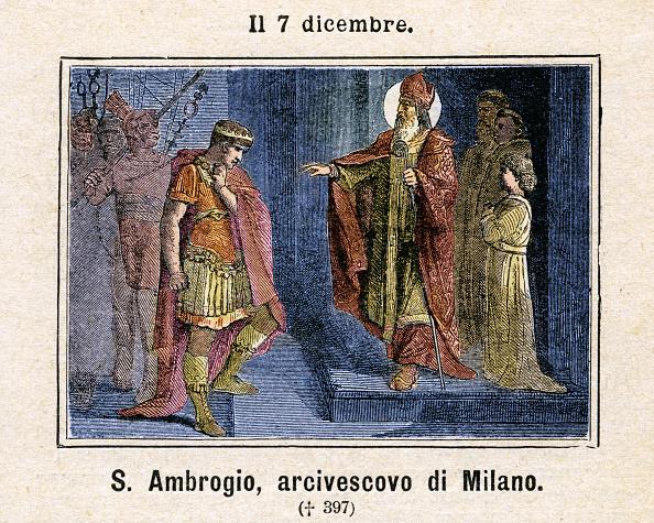 Religious Icon「Saint Ambrose」:写真・画像(19)[壁紙.com]