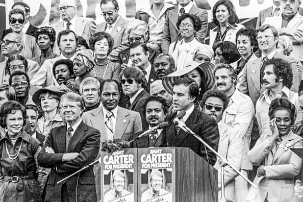 Coretta Scott King「Celebs At Jimmy Carter Rally」:写真・画像(12)[壁紙.com]