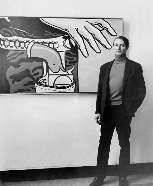 カメラ目線「Roy Lichtenstein」:写真・画像(6)[壁紙.com]