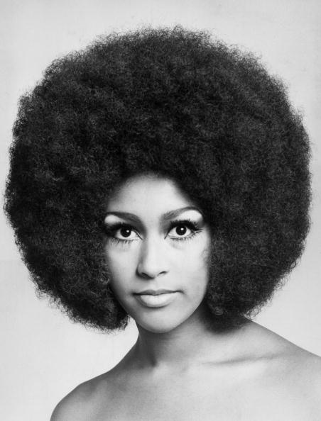 女性一人「Marsha Hunt's Afro」:写真・画像(1)[壁紙.com]