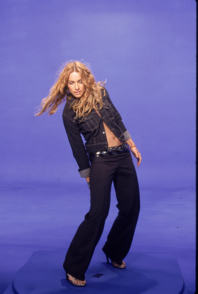 Denim「Madonna During 'Ray Of Light' Video Shoot」:写真・画像(3)[壁紙.com]