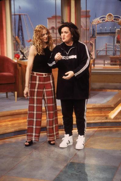 女性歌手「Madonna On 'The Rosie O'Donnell Show'」:写真・画像(12)[壁紙.com]