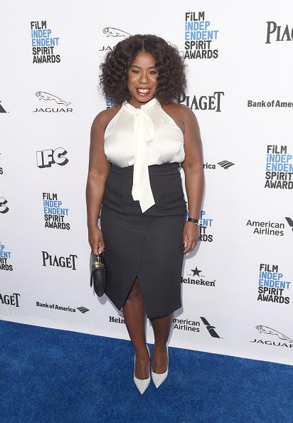 High Waist Skirt「2016 Film Independent Filmmaker Grant And Spirit Award Nominees Brunch - Arrivals」:写真・画像(4)[壁紙.com]